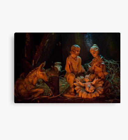 Nativity (landscape) Canvas Print