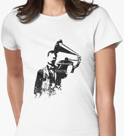 Crank It Womens Fitted T-Shirt