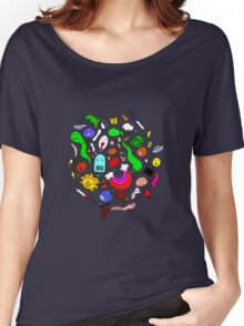 Colourful Characters Women's Relaxed Fit T-Shirt