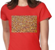 Leaf Peeping Womens Fitted T-Shirt