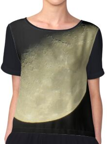 Moon over New York City  Chiffon Top