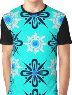 ABSTRACT IN BLUE Graphic T-Shirt