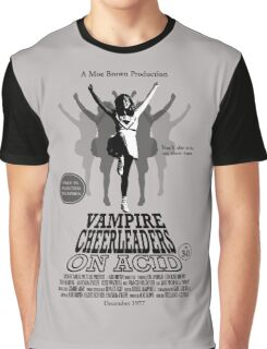 Vampire Cheerleaders On Acid Graphic T-Shirt