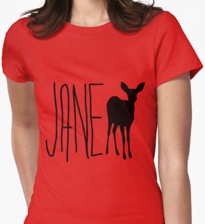 Jane Life is Strange - Black Womens Fitted T-Shirt
