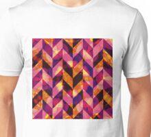 Floral Herringbone Unisex T-Shirt