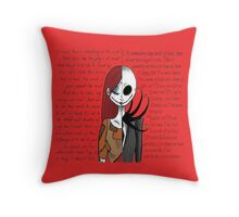Nightmare Before Christmas NY! Throw Pillow