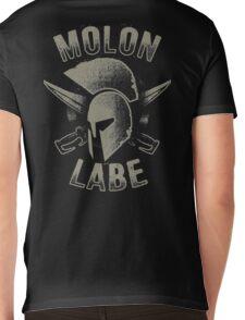 Molon Labe T-shirt Mens V-Neck T-Shirt