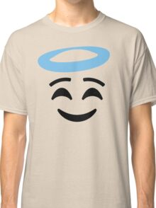 Emoji with Angel Halo Classic T-Shirt