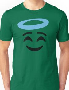 Emoji with Angel Halo Unisex T-Shirt