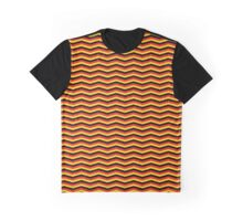 German Tricolor Chevron Pattern Graphic T-Shirt