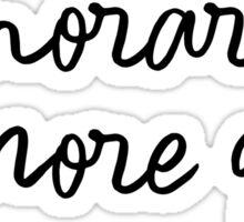 honorary gilmore girl Sticker