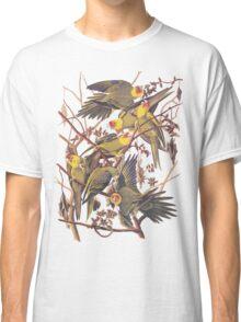 Carolina Parakeet Audubon Vintage Bookplate Classic T-Shirt