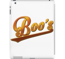 Boo's Bar Logo - As Seen On 'Pencils' iPad Case/Skin