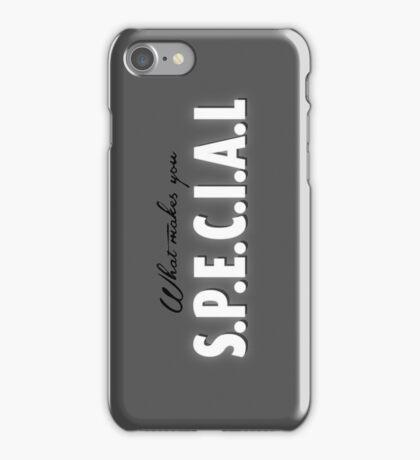 S.P.E.C.I.A.L iPhone Case/Skin