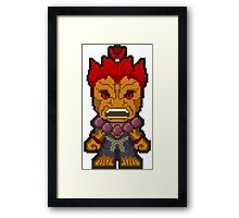 The Demon Framed Print