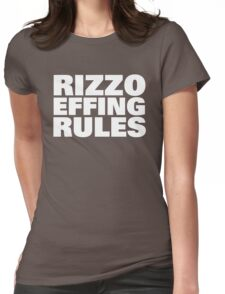 RIZZO RULES! Womens Fitted T-Shirt