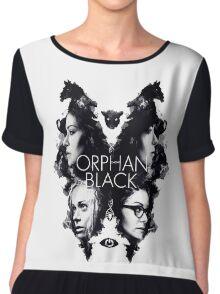 ORPHAN BLACK Chiffon Top