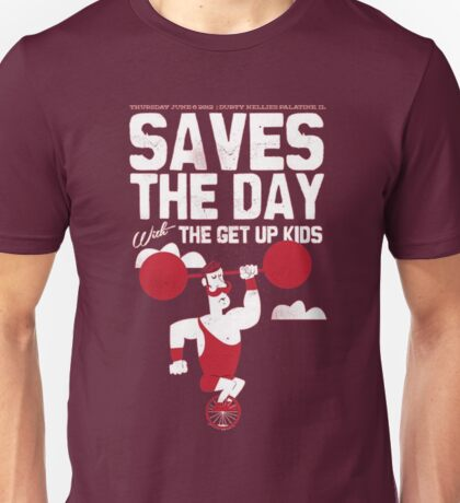 Saves the Day and The Get Up Kids tour tee Unisex T-Shirt