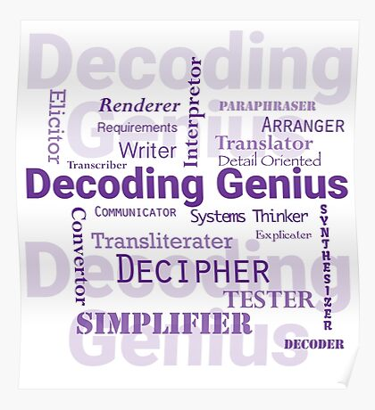 Decoding Genius 2 Poster