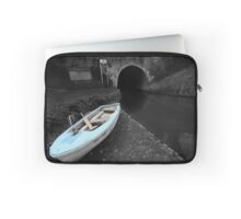 Bruce Tunnel and Little Blue Boat Laptop Sleeve