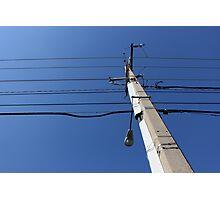 Telephone Wires Photographic Print