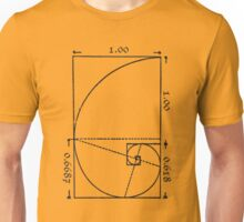 The Golden Spiral Unisex T-Shirt
