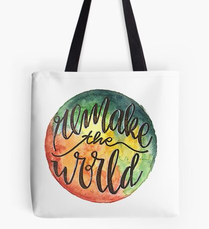 Remake the World (Space) Tote Bag