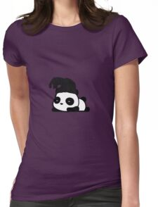 The Weeknd Panda Womens Fitted T-Shirt
