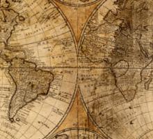 World Map 1736 Sticker