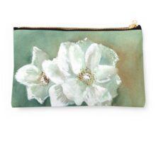 White Blooms Studio Pouch