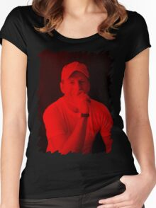 Bruce Willis - Celebrity Women's Fitted Scoop T-Shirt