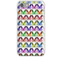 Rainbow kangaroos iPhone Case/Skin