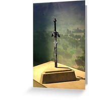 Master Sword Greeting Card