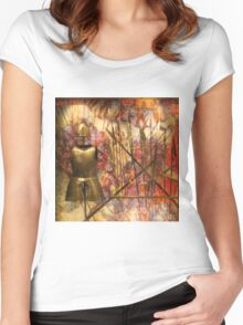 Armour; Knights Of St John Women's Fitted Scoop T-Shirt