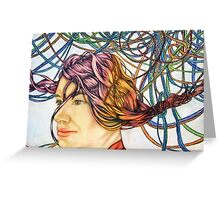 Roped in Dreams Greeting Card