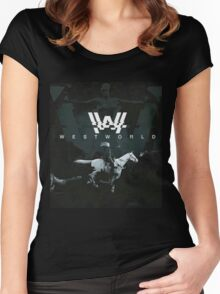 westworld film Women's Fitted Scoop T-Shirt
