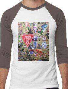 Zelda 30th Anniversary  Men's Baseball ¾ T-Shirt