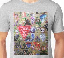 Zelda 30th Anniversary  Unisex T-Shirt