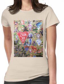 Zelda 30th Anniversary  Womens Fitted T-Shirt