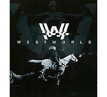 westworld film Photographic Print