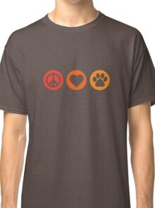 Peace Love Pooch Original Shirt Classic T-Shirt