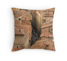 Siena - From the Campanile Throw Pillow