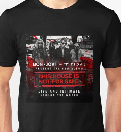 Bon Jovi This House is Not For Sale Tour  Unisex T-Shirt