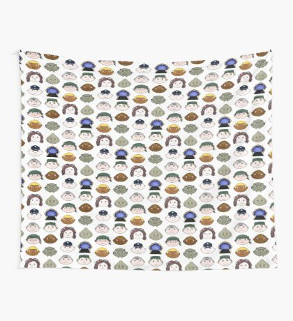 SG1 pattern Wall Tapestry