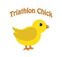 Triathlon Chick by Eggtooth