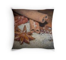 sweet cooking time Throw Pillow