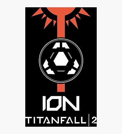 Titanfall 2 - Ion (White) Photographic Print