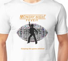 Monday Night Fever Disco Football Unisex T-Shirt