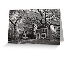 Side by Side, Oak Park Chicago Greeting Card