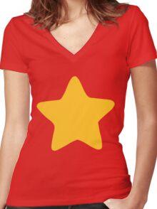 Steven! Women's Fitted V-Neck T-Shirt